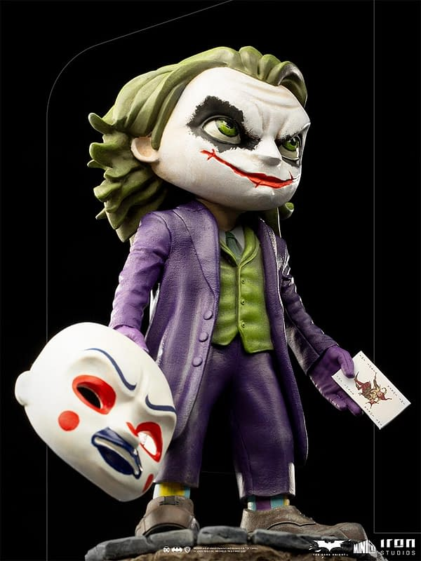 The Dark Knight Joker Gets His Own Minico Design from Iron Studios