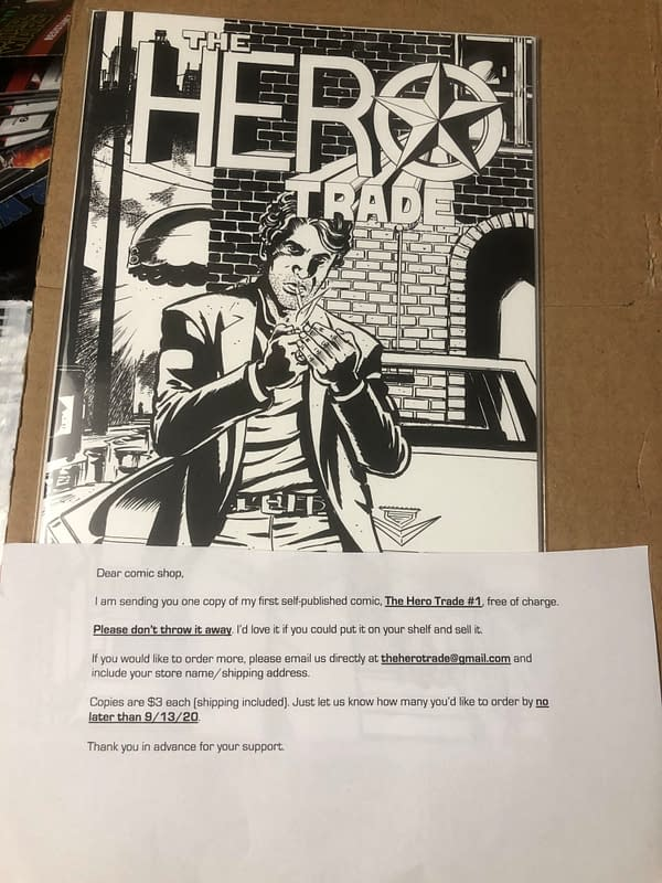 Bad Idea's First Comic Book, The Hero Trade #1 Sells For $780 on eBay
