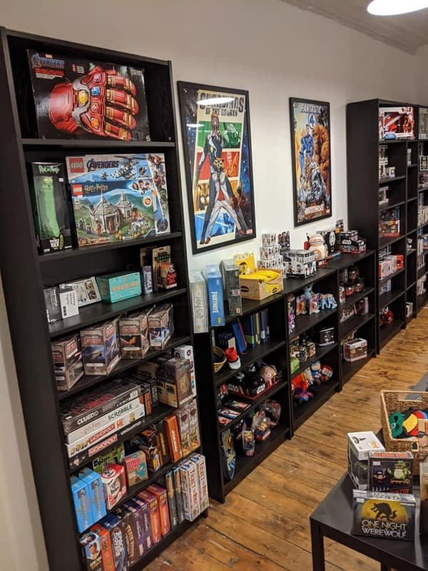 Online Comic Store Subacomic Launches Real Actual Shop In Peebles