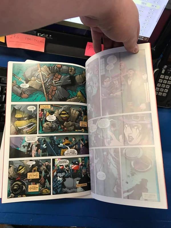 How Widespread Are TMNT: Last Ronin #1 Bleached Misprint Comics?