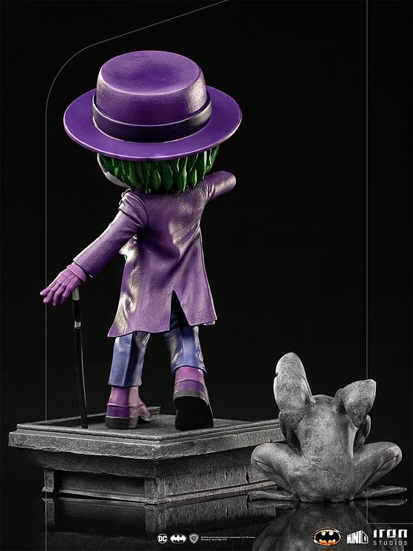 Batman and Joker Return to 1989 with New Minico from Iron Studios