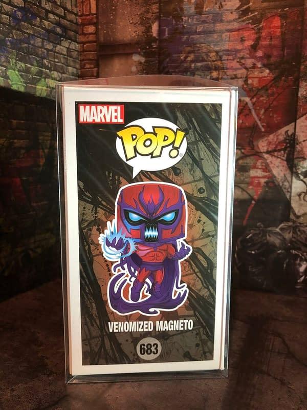 Magneto Becomes Venomized in the NYCC 2020 Funko Pop Exclusive