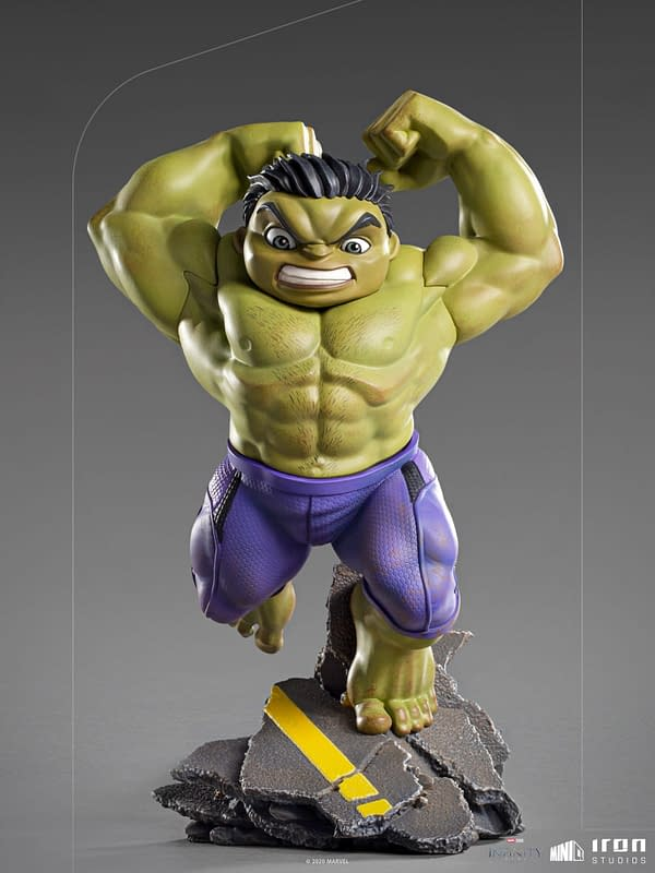 The Hulk is Ready to Smash with New Iron Studios Minico Statue