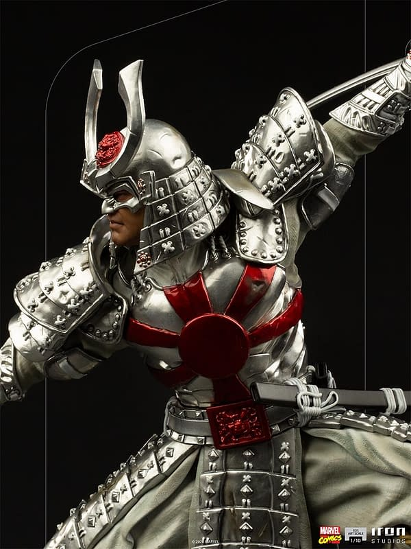 Marvel Comics Silver Samurai Joins the X-Men at Iron Studios