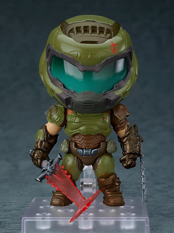 DOOM Eternal Doom Slayer Gets Deadly With Good Smile Company