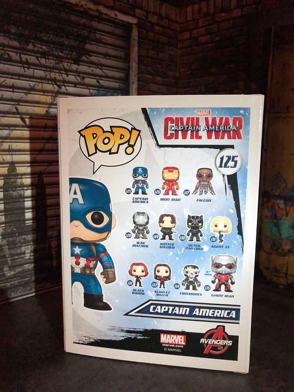Funko MCU - Captain America: Civil War (2016) Team Cap