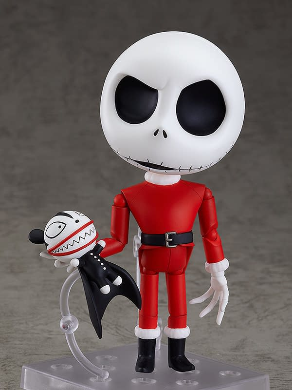 The Nightmare Before Christmas Sandy Claws Jack Arrives at Good Smile