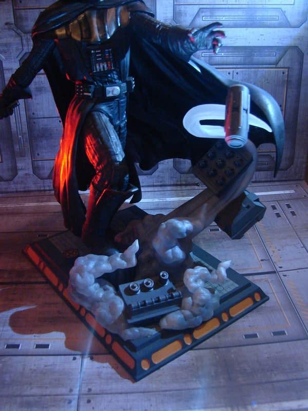 Darth Vader Gets Disney Store Exclusive Diamond Select Statue