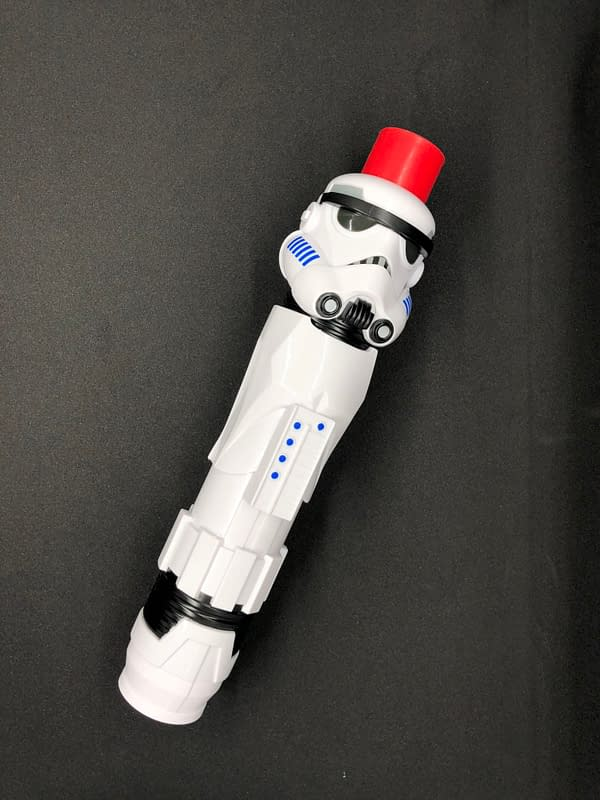 New Star Wars Stormtrooper Themed Lightsaber Embraces the Dark Side