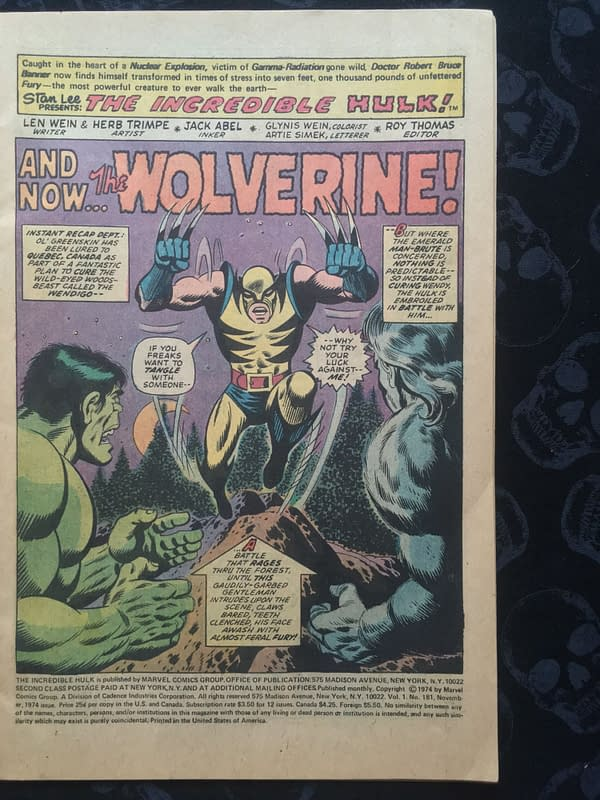 The Man Who Bought Incredible Hulk #181 For $5 In An Antique Store