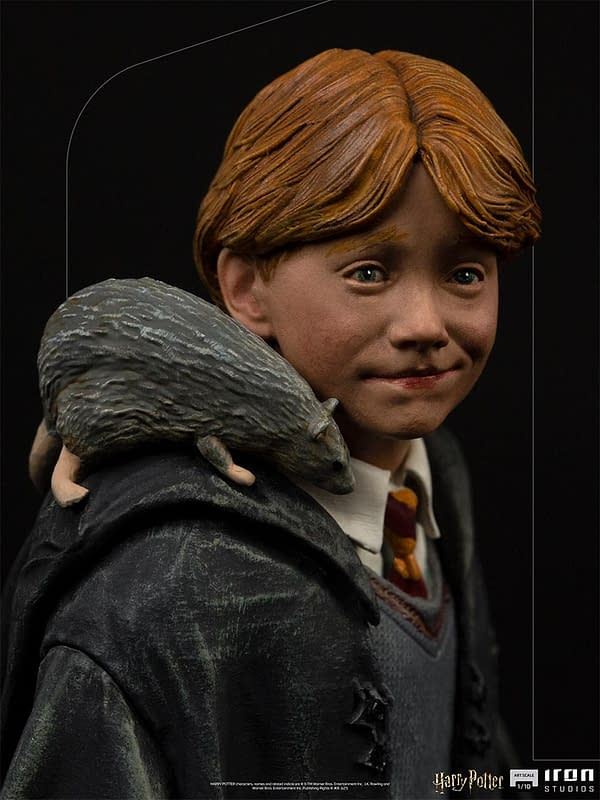Ron Weasley Arrives for Harry Potter 20th Anniversary With Iron Studios
