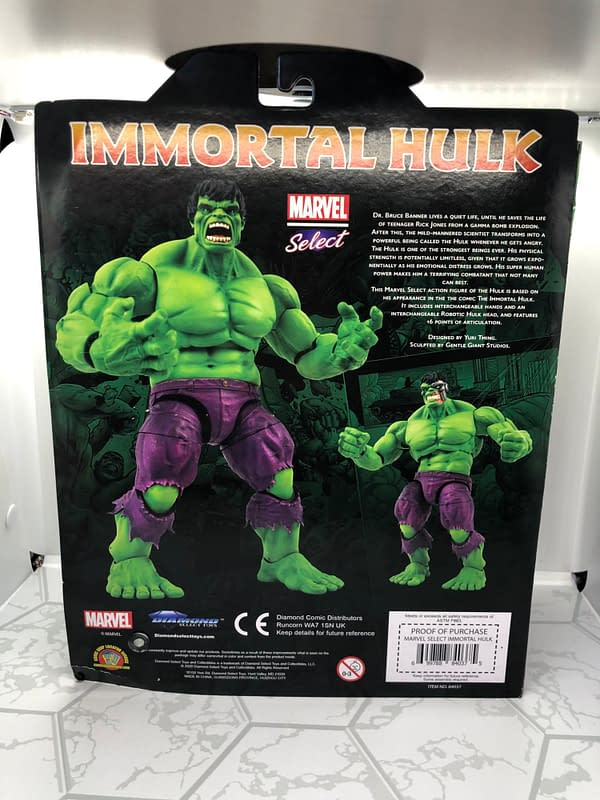 Hulk Unleashes the Rage With His New Marvel Select Figure