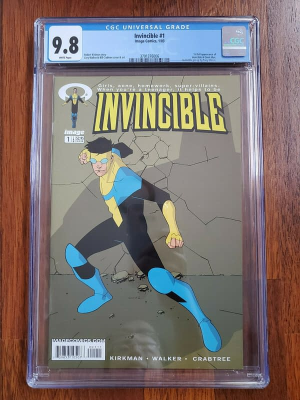 Invincible #1 Hits $2500 After Amazon Series Debut