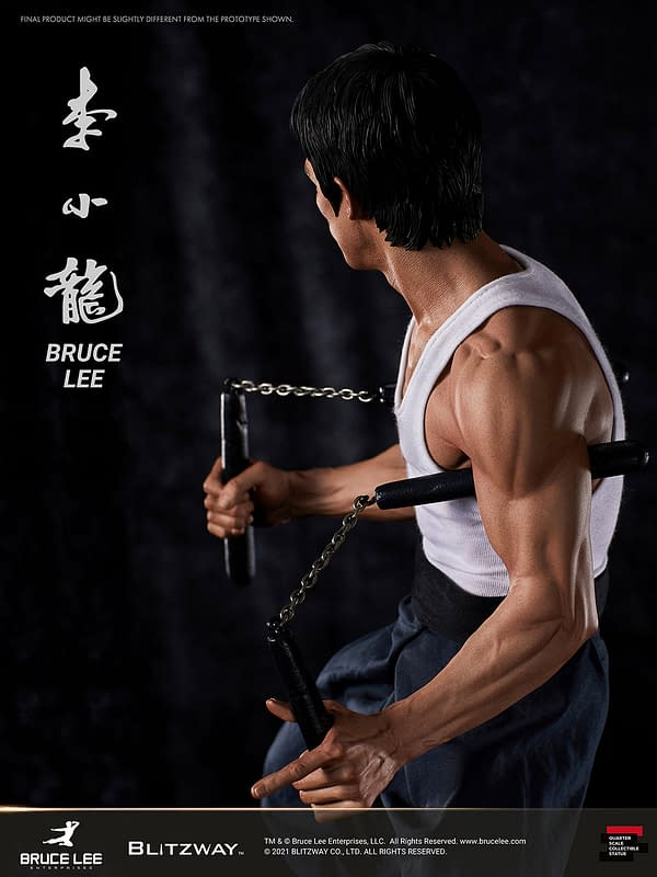 Blitzway Honor's Icon Bruce Lee With Another Tribute Statue