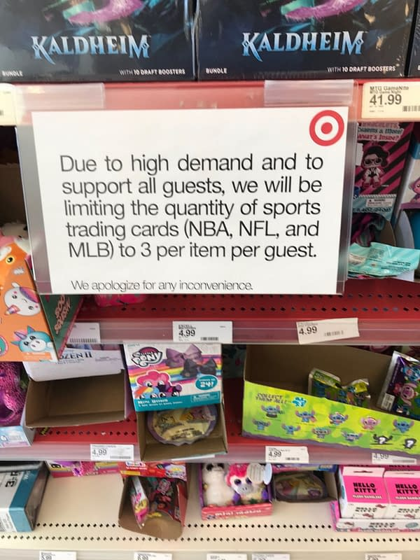 Target Limits Sale Of Sports, Pokemon And Trading Cards