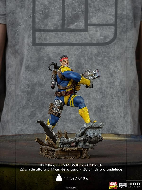 X-Men Forge Joins The Sentinel Fight With Iron Studios Newest Release