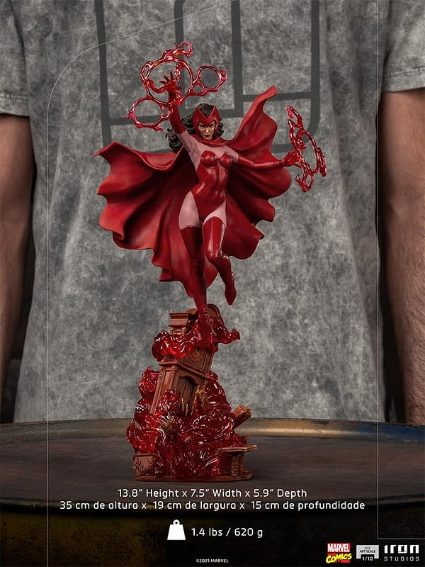 Scarlet Witch Joins the X-Men in Iron Studios Newest Statue