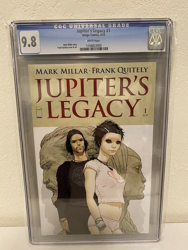 Jupiter's Legacy #1 Jumps To $50 Raw and $224 CGC 9.8, After Netflix Trailer