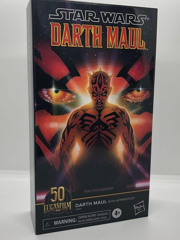 In-Hand Look At Hasbro's Star Wars Darth Maul and Jaxxon Figures