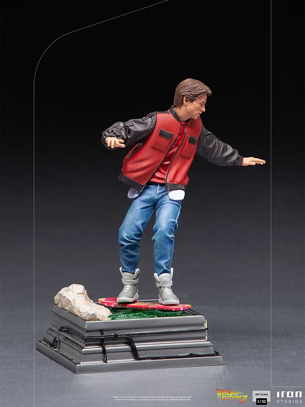 Iron Studios Reveals Back to the Future Part II Marty McFly Statue
