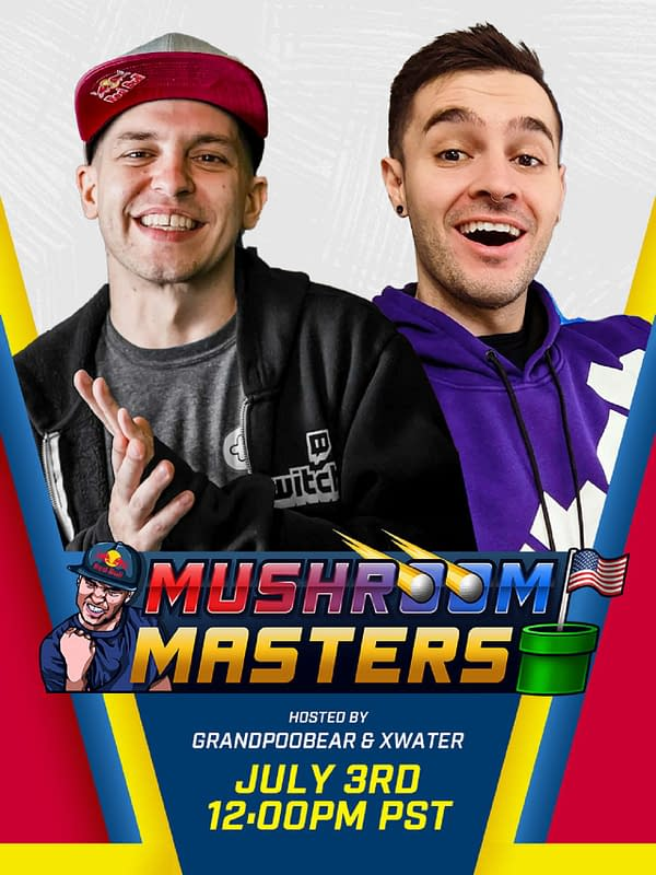 The Mushroom Masters will be taking place on July 3rd, courtesy of GrandPOOBear.