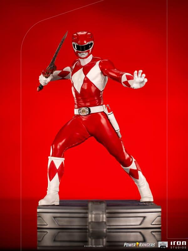 Massive MM Power Rangers Diorama Statue Series Hits Iron Studios