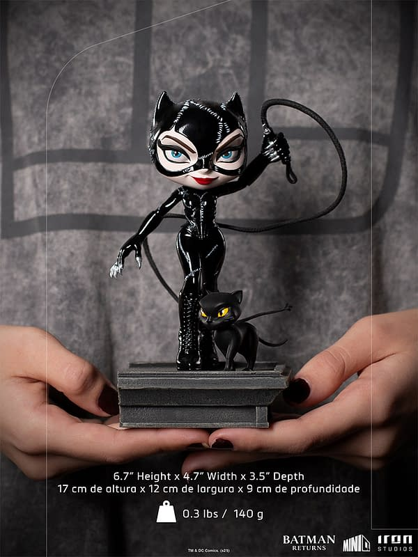 Batman Returns Catwoman Joins Iron Studios MiniCo Statue Line