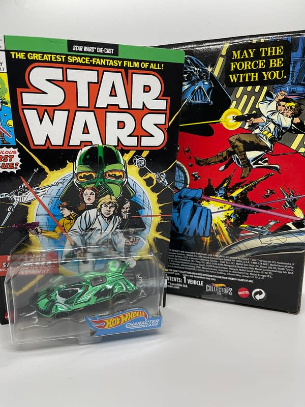 Darth Vader Get a Throwback With Mattel's Next SDCC 2021 Exclusives
