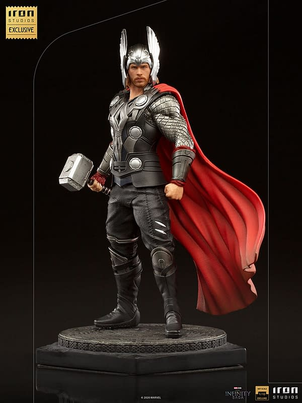 Iron Studios Reveals Thor: The Dark World 1/10th Scale Statue