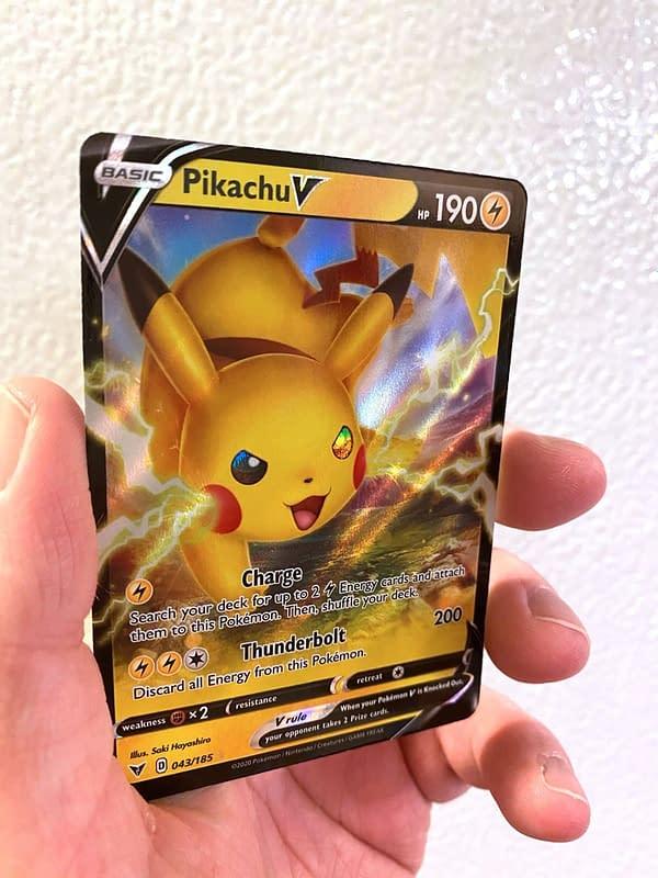 Vivid Voltage Pikachu V. Credit: Pokémon TCG