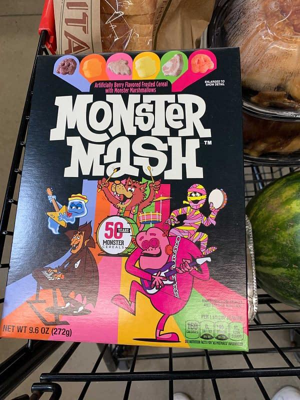 General Mills Cereal Monsters Remake Monster Mash For Anniversary