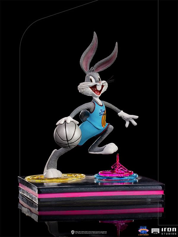 Space Jam: A New Legacy Bugs Bunny Arrives at Iron Studios