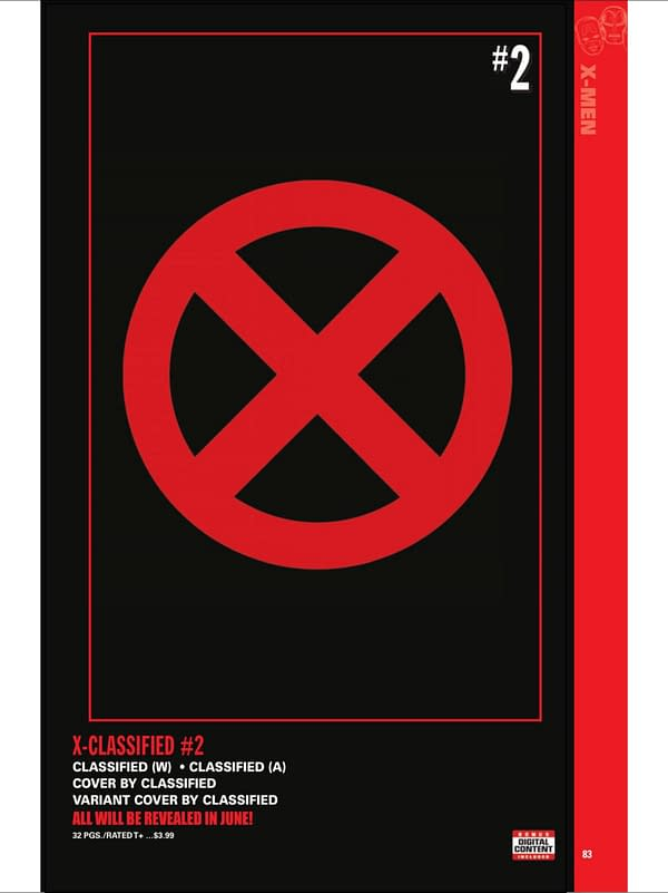 J. Scott Campbell Covers to X-Classified #1 Cancelled