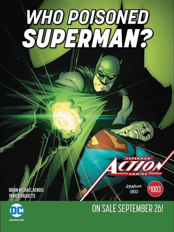 Who Poisoned Superman? And Did Kick-Ass Change the Name of Red Cloud?