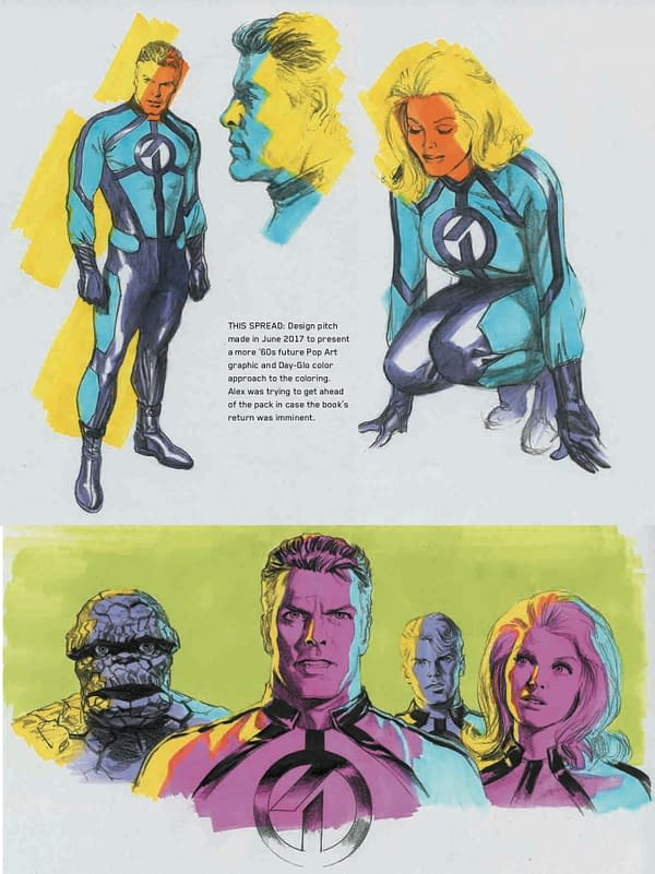 Remember That Alex Ross Fantastic Four Teaser From 2017?