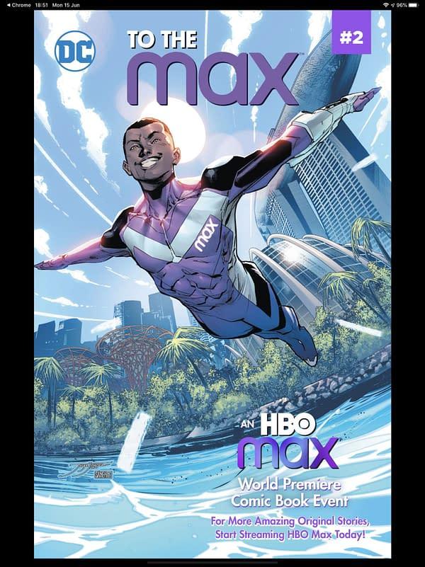 Ivan Cohen Writes Free Digital HBO Comics, To The Max