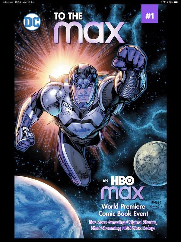 DC Editor Ivan Cohen Writes Free Digital HBO Comics, To The Max.