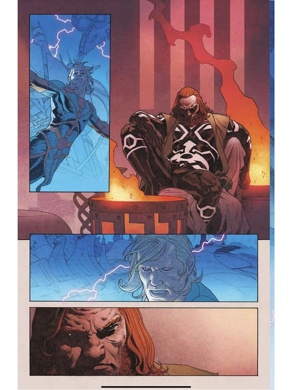 First Preview Of Esad Ribic's Art In The Eternals #1 For November