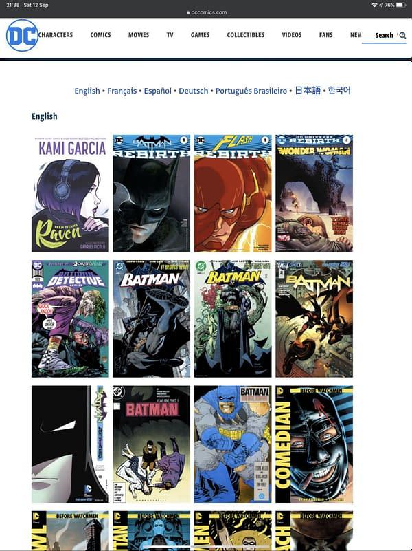 Read Hundreds Of DC Comics Digitally Free Including Milestone Returns