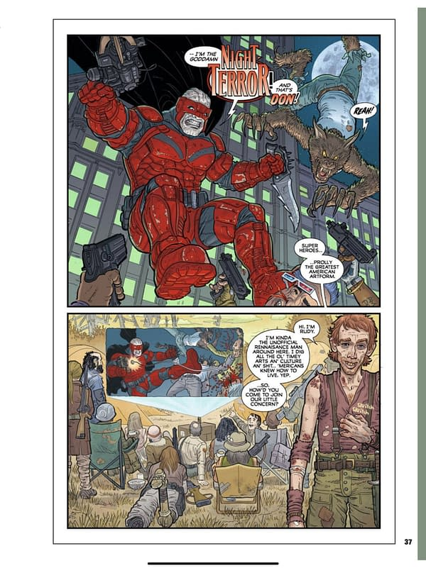 Preview of Steve Strode Post Americana #1 From Image Comics