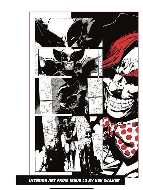 Wolverine Art by Greg Land, Kev Walker, Salvador Larroca - Preview
