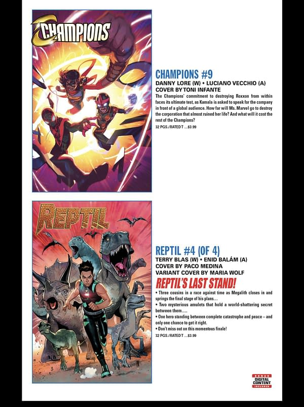 Full Marvel Comics September 2021 Solicits and Solicitations
