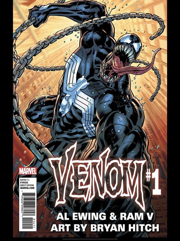 Sneak Peek At Bryan Hitch's Art For Venom #1