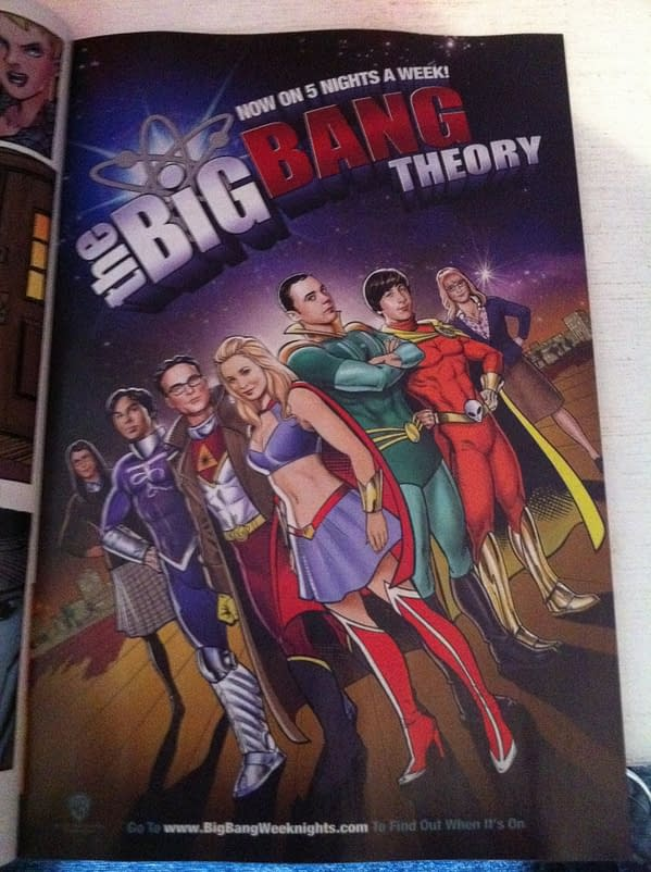 The Big Bang Theory Suits Up For DC Comics