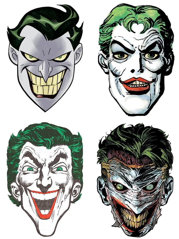 DC Comics to Give Away Joker and Catwoman Masks for 80th Anniversaries