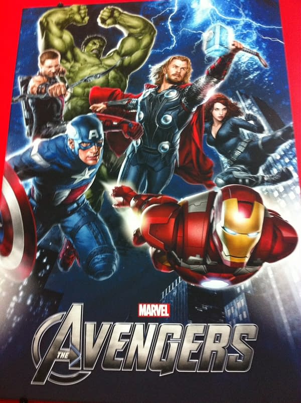 Avengers Movie Promotional Poster Debuts At Licensing Expo