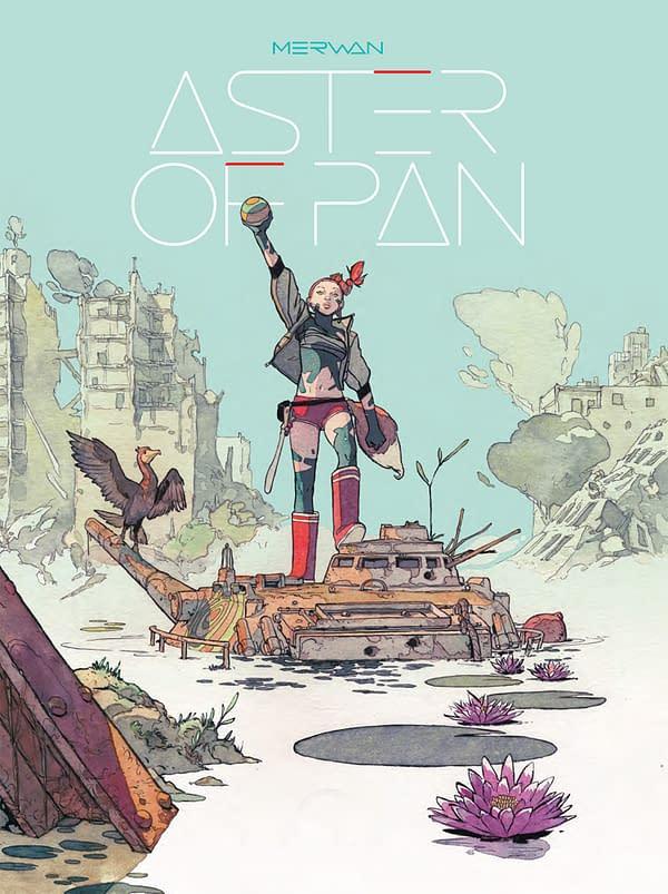 Peach Momoko's Cover For Aster Of Pan, Only on Kickstarter