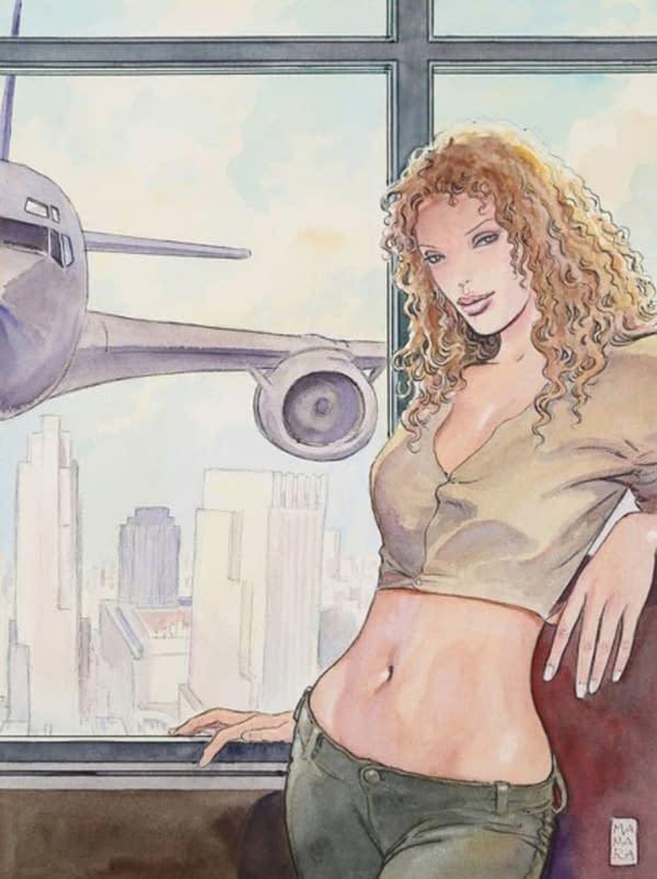 When Milo Manara Paid Sexy Tribute to 9-11 Attacks