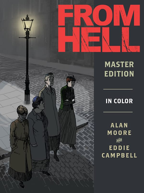From Hell: Master Edition cover. Credit: Top Shelf
