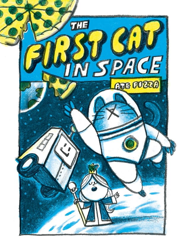 Mac's Book Club Show Gets a Graphic Novel spin-off, The First Cat In Space Ate Pizza